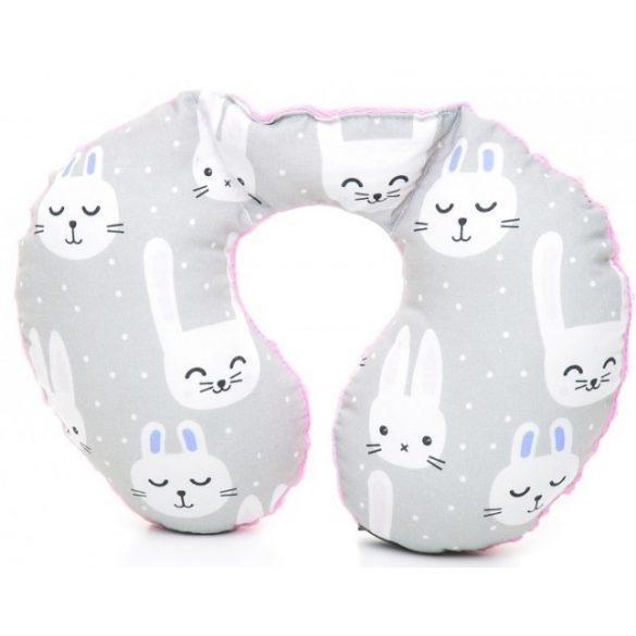 Pihe-puha nyakpárna Funny Bunny rózsaszín
