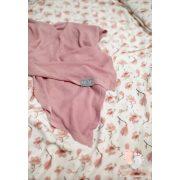 Memi light ezüst ionokkal dúsított kötött bambusz takaró - Púder rózsaszín