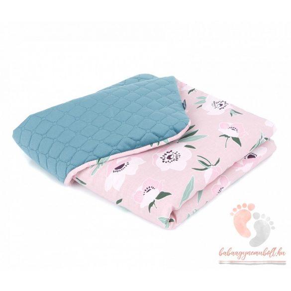 minky takaró - Süni rózsaszínnel