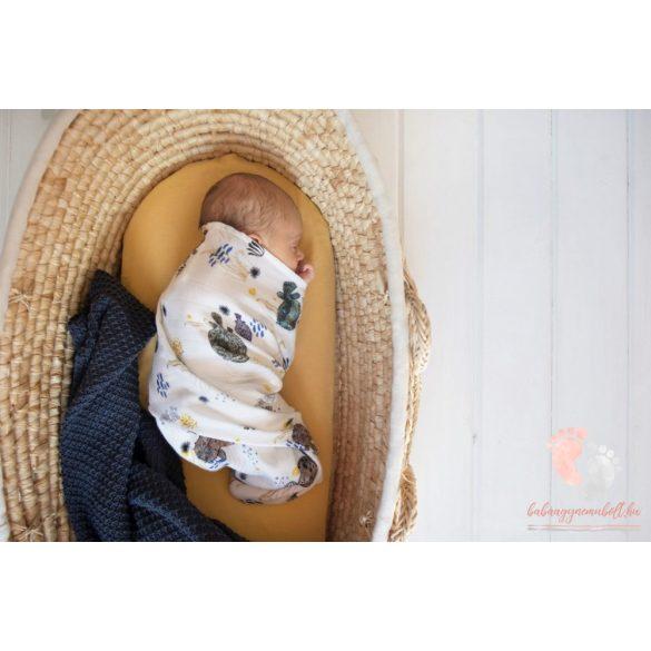 Deluxe bambusz takaró - Halak