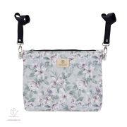 Könnyű álom bőr babakocsi táska - Vintage flowers