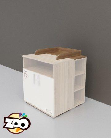 TODI ZOO - pelenkázó toldalék 2 ajtós komódhoz