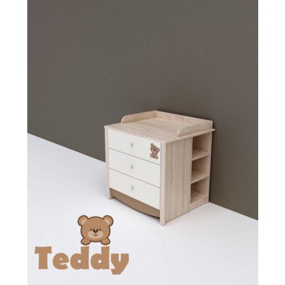 TODI Teddy - nyitott polc a pelenkázó toldalék alá