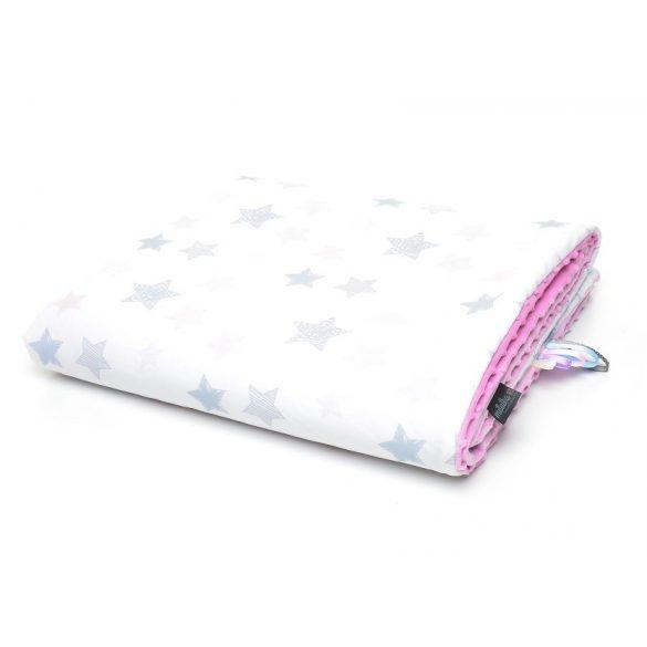 Pihe-puha minky takaró - PóniÁlom rózsaszín