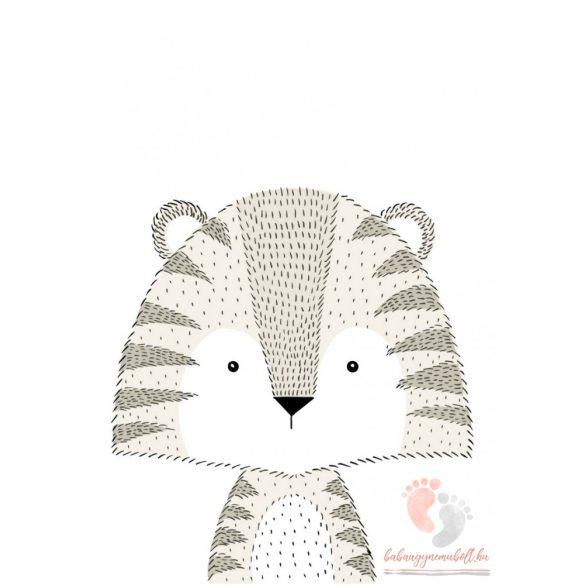 A4-es poszter - Dots Tigris