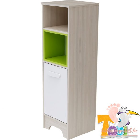 Todi Ice Cream keskeny nyitott + 1 ajtós szekrény