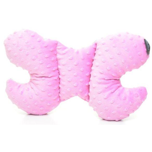 Pihe-puha pillangó párna Funny Bunny rózsaszín