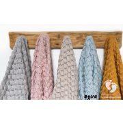 Color shell kötött bambusz-pamut takaró - Bézs