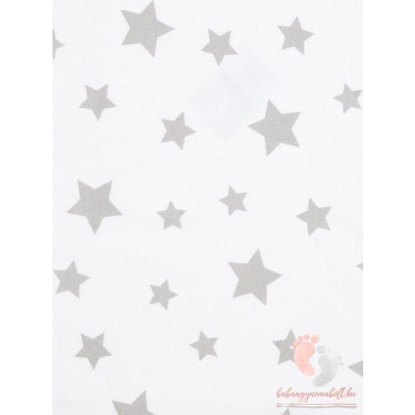 Tetra pelenka - Fehér alapon szürke csillagos