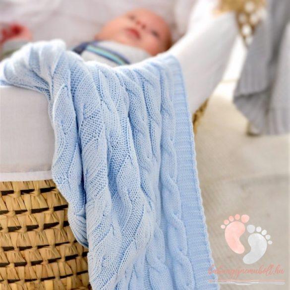 Royal Spring pamut kötött takaró - Lila