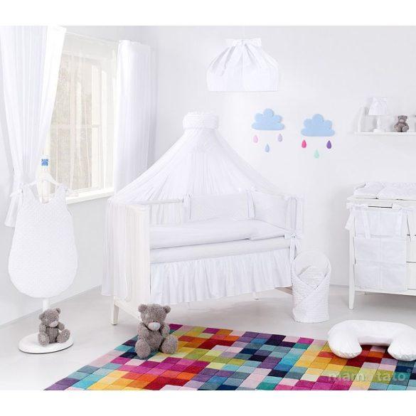 Prémium babaágynemű garnitúra 2 részes huzat - Fehér álom