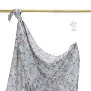 Könnyű álom bambusz takaró 100x120 cm - Vintage flowers