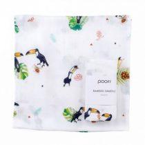 Deluxe bambusz takaró - Tucan