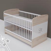 Todi Magic - átalakítható gyerekágy 70×140 cm-es