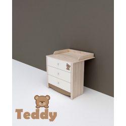 TODI Teddy - pelenkázó toldalék 3 fiókos komódhoz (80*70-es)