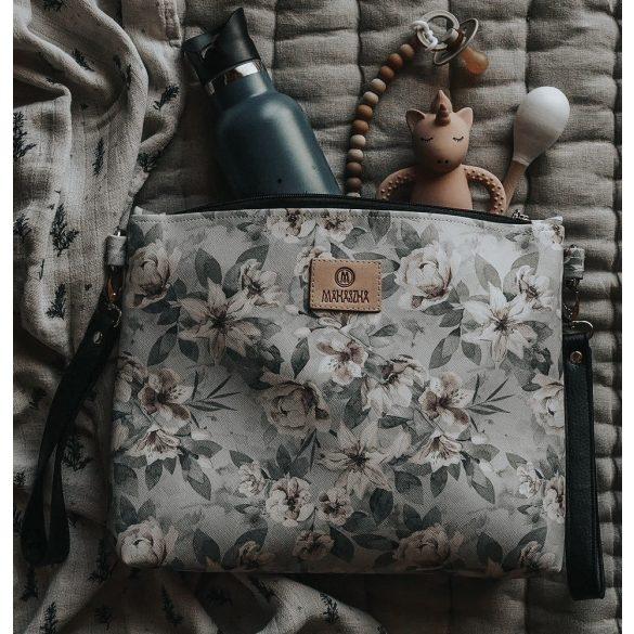 Könnyű álom bőr babakocsi táska - Zúzmara