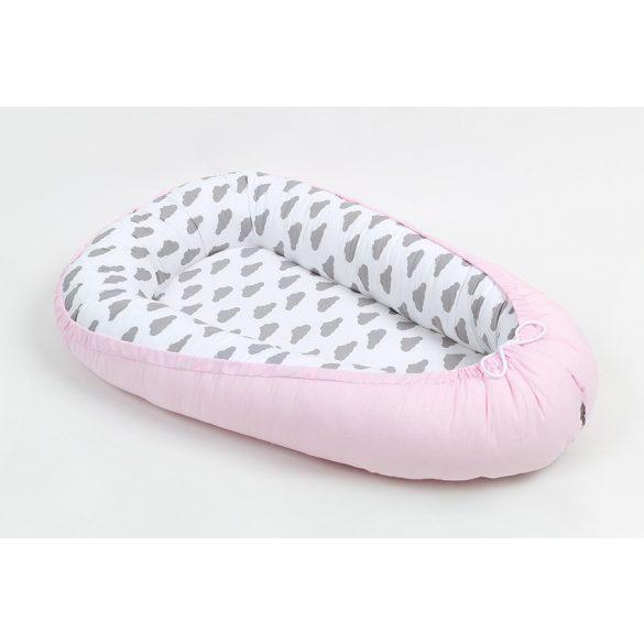 Prémium babafészek - Felhős rózsaszín