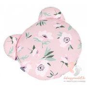 Prémium macipárna - Virágszál rózsaszínnel