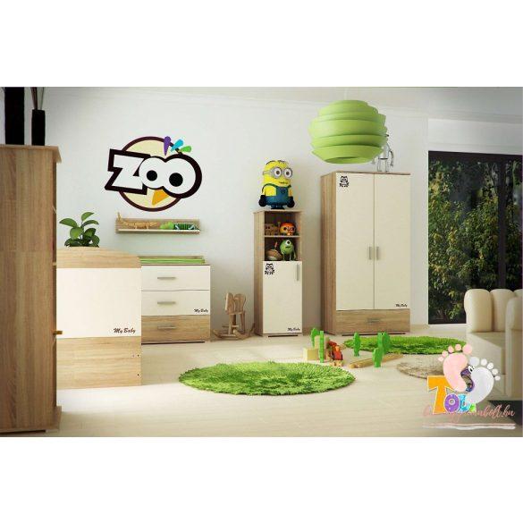 TODI ZOO - 2 ajtós 1 fiókos nagyszekrény