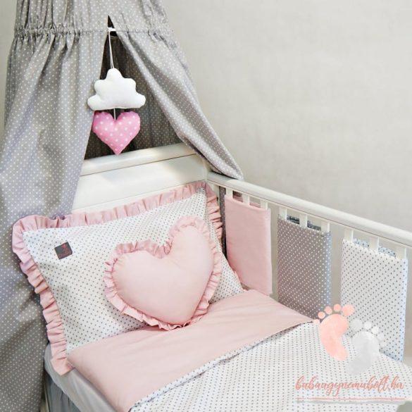 Pastell kukucska rácsvédő - Púder rózsaszín