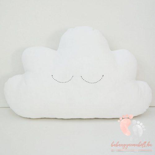 Pastell díszpárna - Felhő