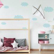 Falmatrica - Festett hatású felhők 3 választható színben