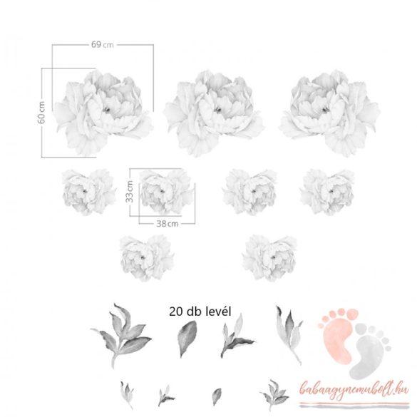 Falmatrica - Rózsaszín bazsarózsa XXL
