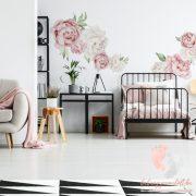 Falmatrica - Rózsaszín bazsarózsa XL