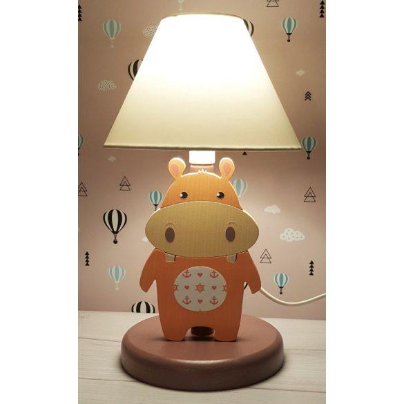 Víziló éjjeli lámpa